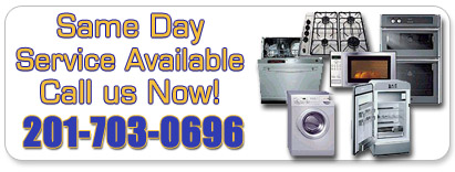 Same day appliance repair service in NJ- image