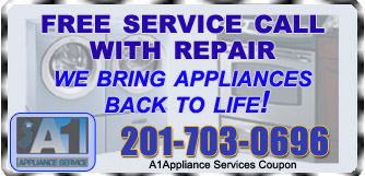 Free service appliance repair in NJ- image