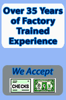 Factory trained appliance repair experts for 35 years- image